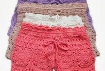 Croche shorts