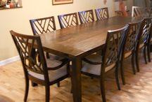 DINING ROOM TABLE IDEAS / Dining room table ideas! / by Barbara Charles