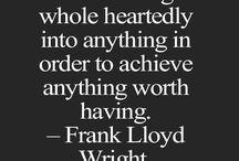 Frank Lloyd Wright Quotes