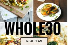 Paleo + Whole30 Meal Planning