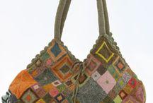 Hæklede tasker