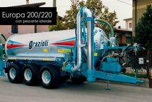 Macchine per l'Allevamento / Rimorchi | Botti per Liquami | Desilatrici | Carri Miscelatori | Impianti Biogas | Pompe e Agitatori per Liquami (Grazioli - Seko - Veneroni)