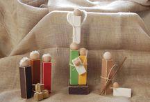nativity scene / Christmas