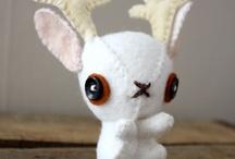 Toys: Creepy Plush / Creepy cute and weird