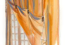 Window Treats - Drapery. Interior Design Inspirations & Ideas / by Lena Kroupnik Interiors