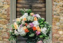 Spring pink and orange luxury wedding inspiration / by Dario Benvenuti Floral & wedding Design