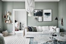 värimaailmaa olohuoneeseen