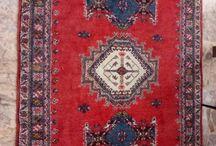 Old Taznakht tribal rug wool on wool for sale