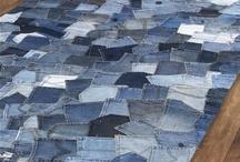 Jeans recycled / zo starého nové