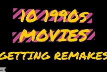 Movie News / Upcoming movies, news, remakes, reboots.