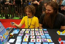 Gen Con 2015 / At the Gen Con trade show - demoing our games and having a great time!