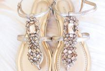 beach sandals / by Verna Davidson