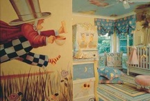 Kids room themes / A collection of ideas for Eirin's room.  Started with Alice in Wonderland (a la Tim Burton) and morphed to Fantasy forest