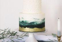 Green/silver cake / 3 июня