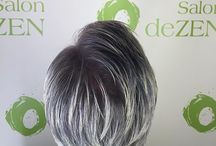 Silver and Gray Haircolor