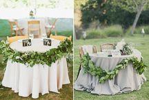 Greenery Wedding Shoot