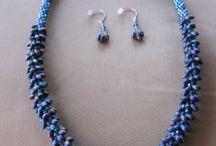 Kumihimo jewelry / by Nemeth Ilona