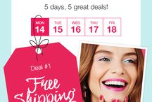 Avon Customer Appreciation Week / Daily deals posted for Avon Customer Appreciation Week. 5 Day with 5 Deals! Follow this board for updates! Deal 1 - September 14, 2015 - FREE shipping on $20 orders;  Deal 2 - September 15, 2015;  Deal 3 - September 16, 2015;  Deal 4 - September 17, 2015;  Deal 5 - September 18, 2015;