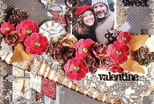 Valentine scrapbook pages / by Karen Jorgensen