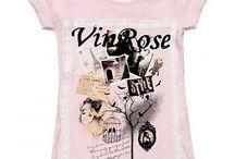 Vinrose shirt zomer2014 / Kinderkleding www.lievekleertjes.con