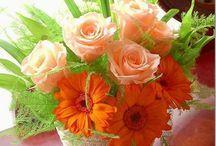 virág / virágok, csokrok, virág dekoráció, köszöntőkhöz