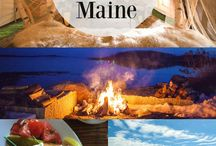 Travel // New England / Historic Inns, Lighthouses, Glamping, Beautiful Beaches and Delicious Seafood. Travel in New England to some of the most beautiful coastal spots in North America