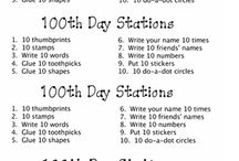 100th Day of School Activities / by Rachel Lynette@Minds in Bloom