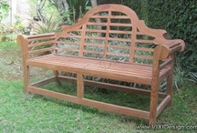 Garden Furniture / Teak garden furniture high quality cheap price direct from manufacturer in Indonesia