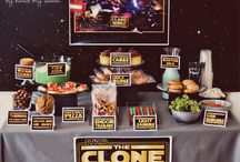 Star Wars Party Ideas / Star Wars Party Ideas / by Beth Hunter