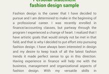 Personal Statement Fashion Design Sample Johncompton123 On Pinterest