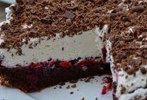 dort čokoláda a dže