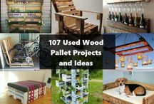 WOOD PALLETS / by Carole Lewis