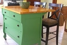 Upcycled Furniture and Fixtures / . / by Linda Gilson Gloede