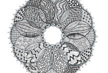 my zentangle pictures