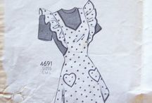 Střihy šaty, sukně / oblékání