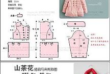 girls clothing pattern