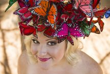 Crazy Hats for Mad Hatter tea party / by Kristen Lee Fields