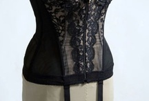 Lingerie-In the Middle / Lingerie that doesn't fall into the Bra or Knickers category. Mostly corsets, merry widows and garter belts.  / by Vintage Hippo Trish