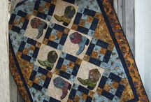 Way Out West . . . / Western Quilts, Fabrics, Cows, Zebus, everything that makes country living special.