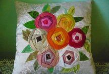 Folded roses