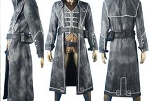 Dishonored Corvo Attano costumes / Dishonored: Rat Assassin cosplay costume Tales from Dunwall Master Assassin cosplay costume