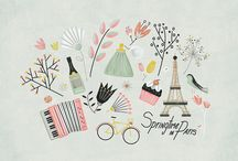 cute and illustrations