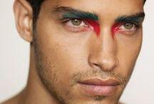 Makeup on men