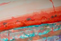 Abstract- Deborah Leonard Art / My original art work