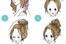 Idéias de cabelos