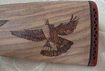 Decorazioni - pirografia - Bottega Mastrociliegia / Oggetti in legno incisi a fuoco, decorati a mano uno ad uno.