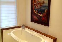 Spa Bathrooms / Serving Mississauga, Brampton, Milton & Oakville, we provide full-service renovation services for your home, including bathroom renovation, basement & kitchen renovation and custom renovations.