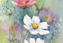 Watercolor by Maria Roszkowska