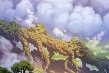 Il·lustració: Paissatges, ambients i entorns / Il·lustració: Paissatges, ambients i entorns