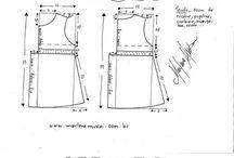 detské šaty-strihy